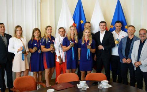 Spotkanie wMinisterstwie Sportu iTurystyki (15 lipca 2019)