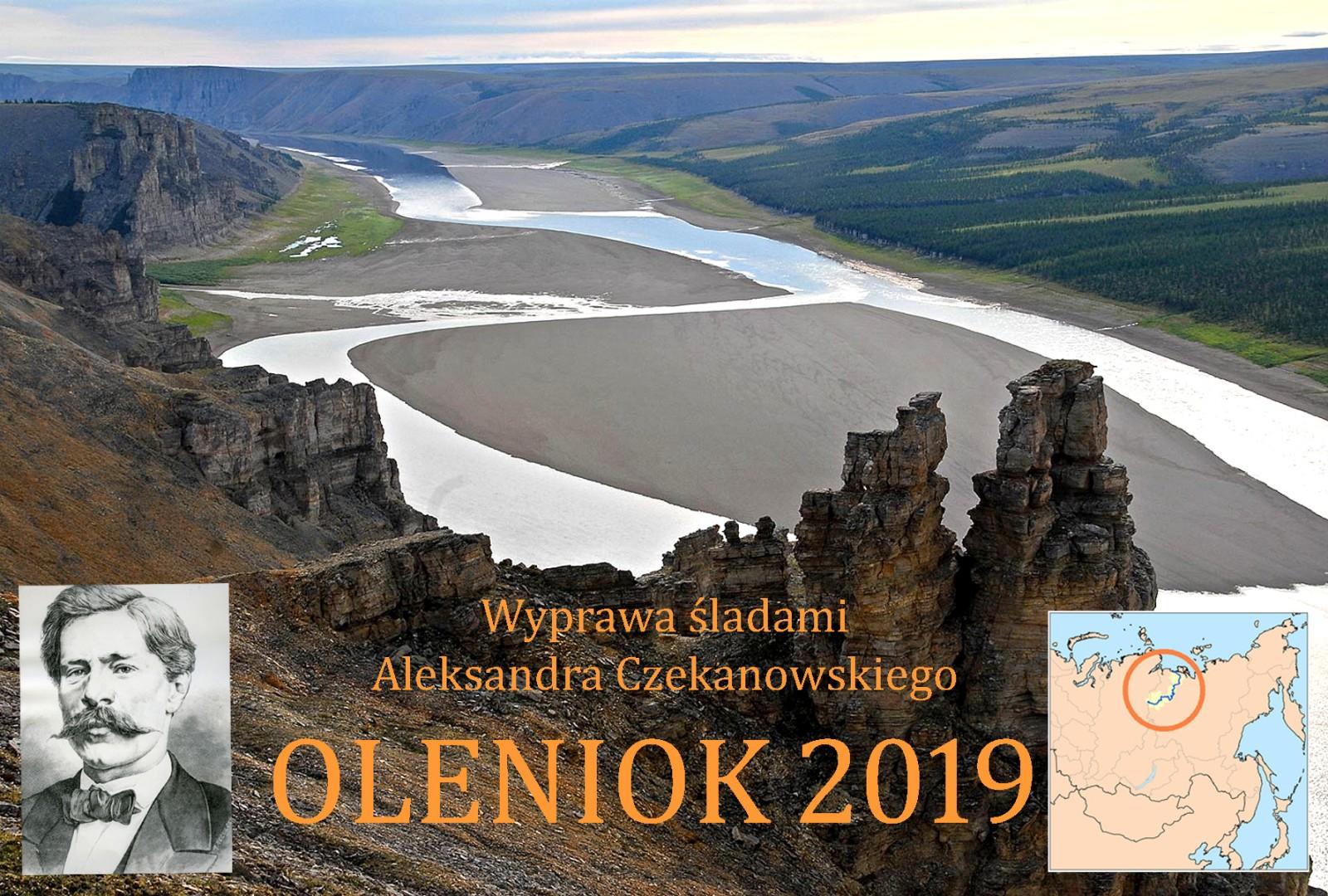 Oleniok 2019-Wyprawa Śladami Aleksandra Czekanowskiego