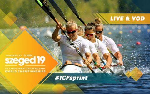 Mistrzostwa Świata wsprincie kajakowym iparakajakarstwie, 21-25.08.2019, Szeged/Węgry (19 sierpnia 2019)