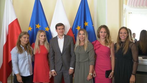 K.Kolodziejczyk, K.Naja, W.Banka, A.Pulawska, J.Iskrzycka, P.Paszek-fot.MSiT