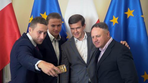 M.Lubniewski, A.Sliwinski, W.Banka, M.Sliwinski-fot.MSiT