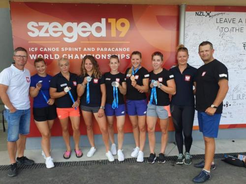 8 medali Szeged 2019