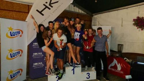 Mistrzostwa Polski druzynowo podium